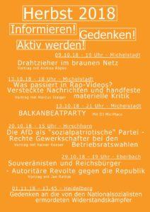 Die AfD als sozialpatriotische Partei? @ Evang. Gemeindehaus Hirschhorn